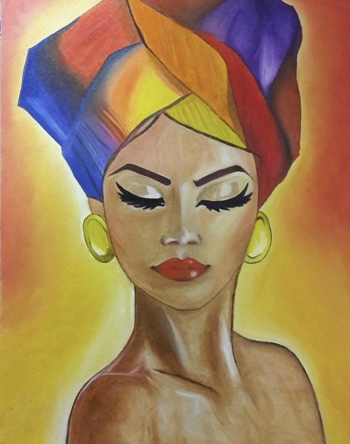 африканско-момиче