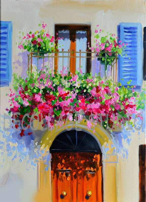 цветно-балконче
