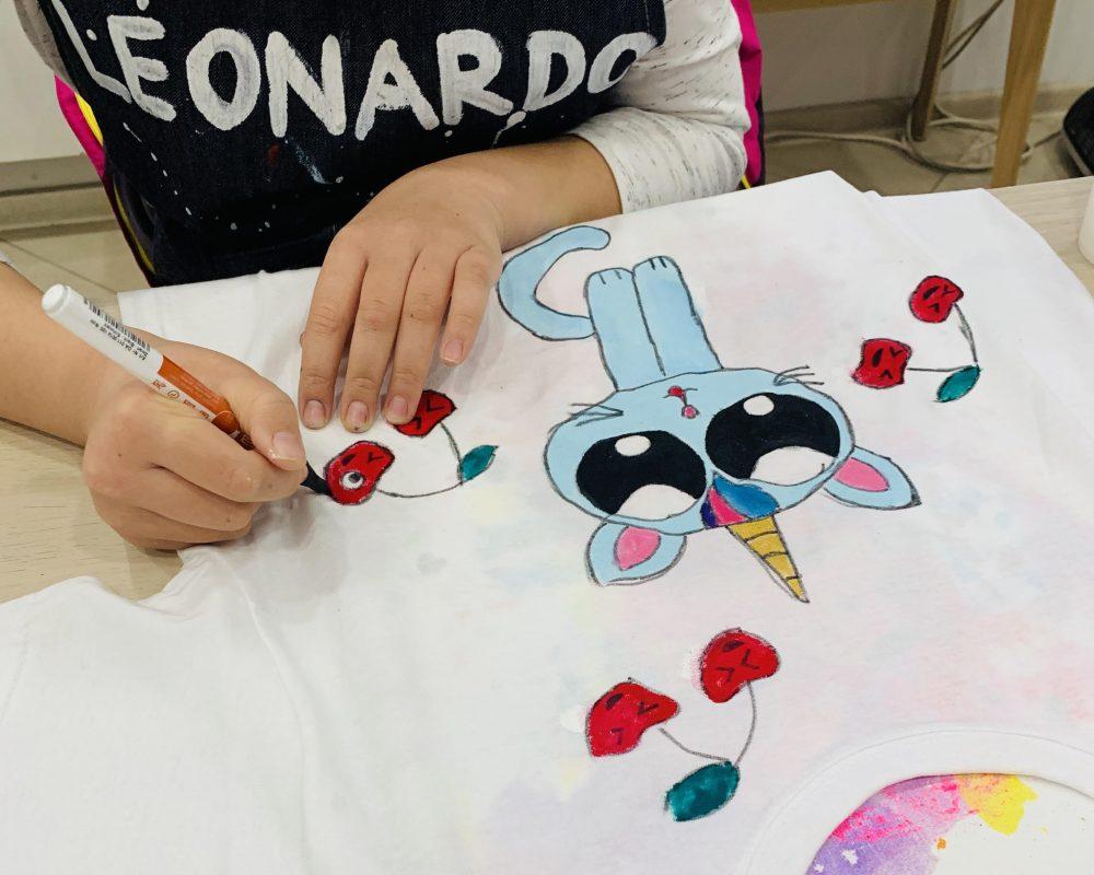 рисуване-на-тениски