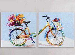рисуване-за-двама-колело