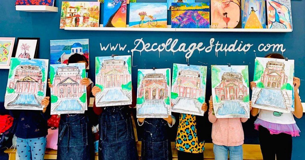 Курсове по рисуване за деца